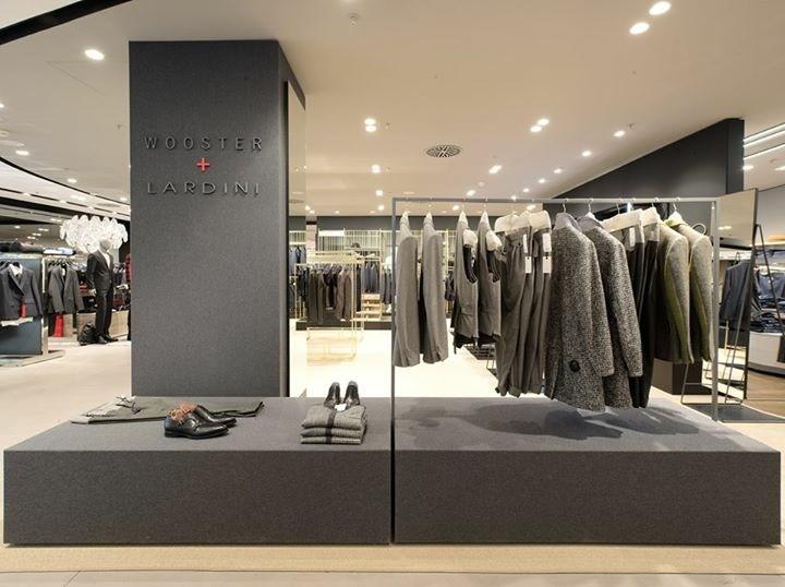 Foto corner Lardini centro commerciale Jelmoli a Zurigo realizzato da clou progetto Meregalli Merlo Associati