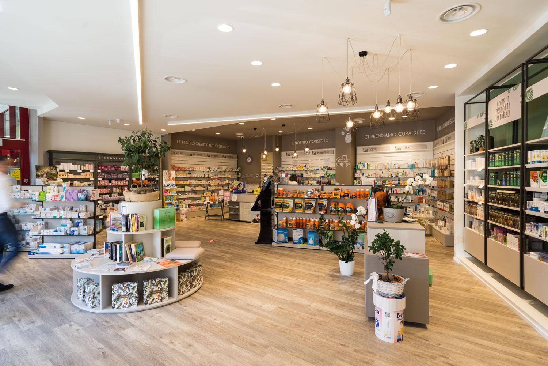 Vista panoramica zona vendita farmacia i tigli legnano