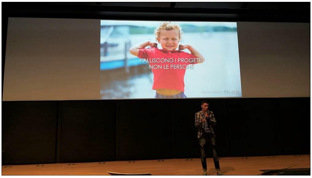 Foto evento FucKUP Night Ottobre 2019 Milano